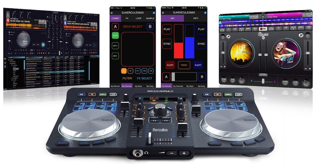hercules-dj-controller-and-software