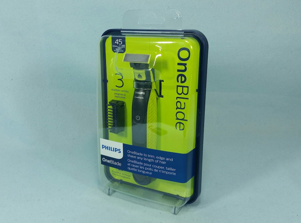 My Review of the Philips OneBlade Wet & Dry Electric Shaver | Best ...