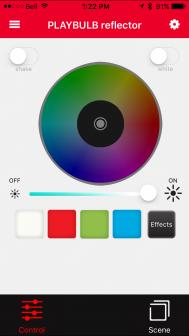 playbulb-app-reflector