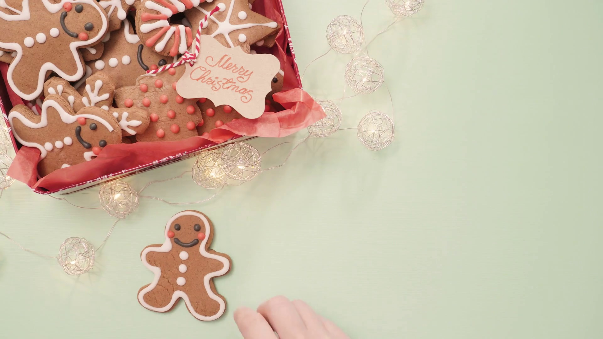 baking gingerbread