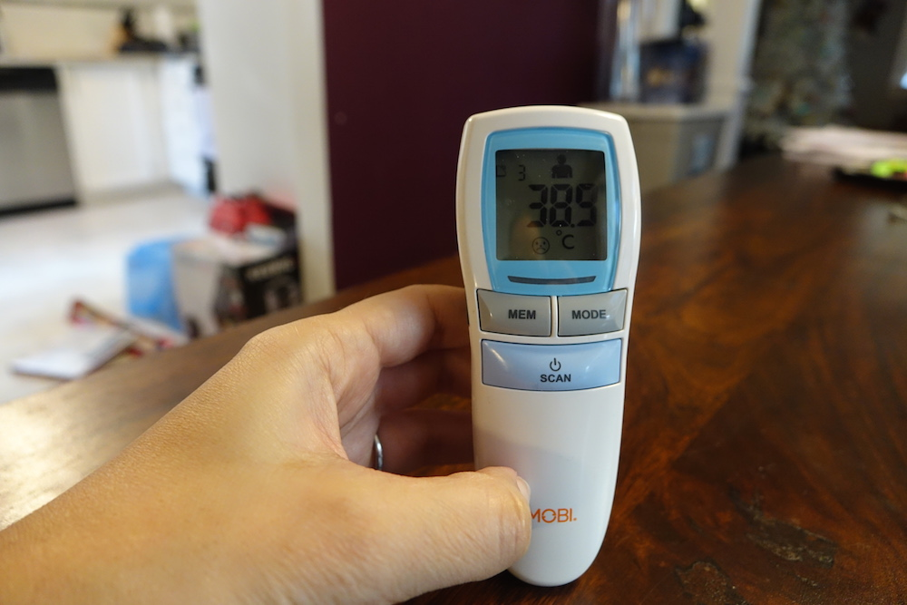 Mobi Thermometer allows for no-touch temperature checks | Best Buy Blog