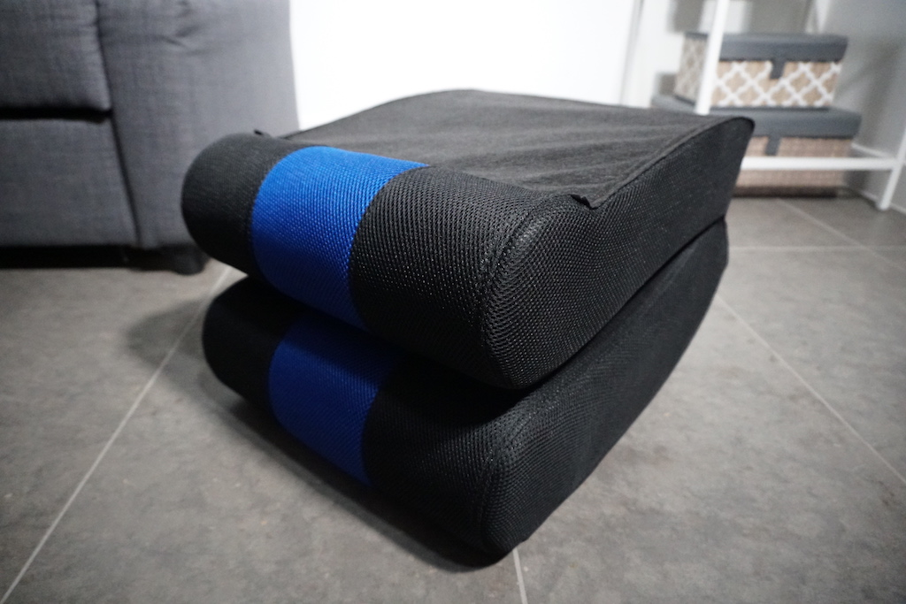 folded gaming chair