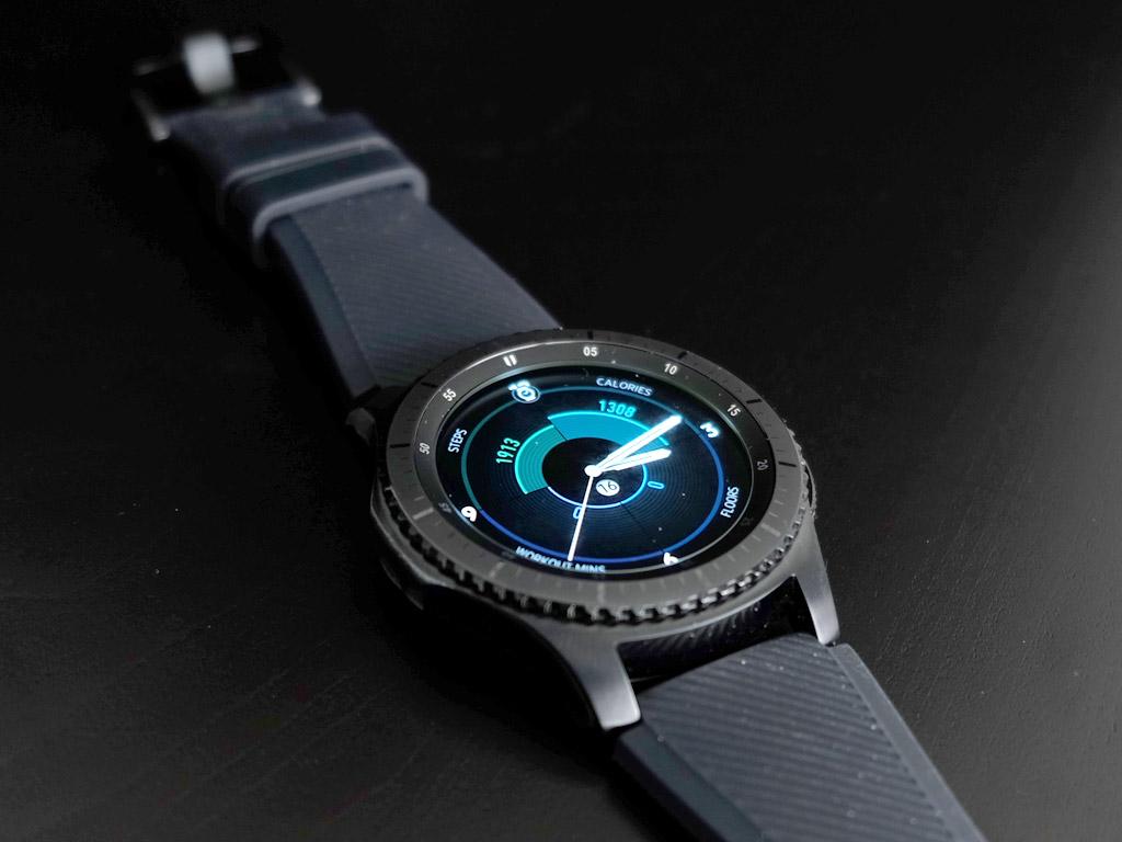 Samsung Gear S3 Frontier Smartwatch Review Best Buy Blog