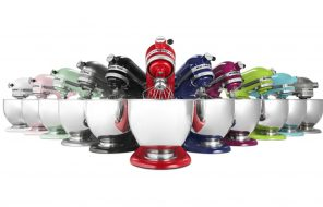 kitchenaid stand mixer colours