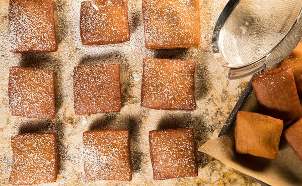 how to make gingerbread beignets