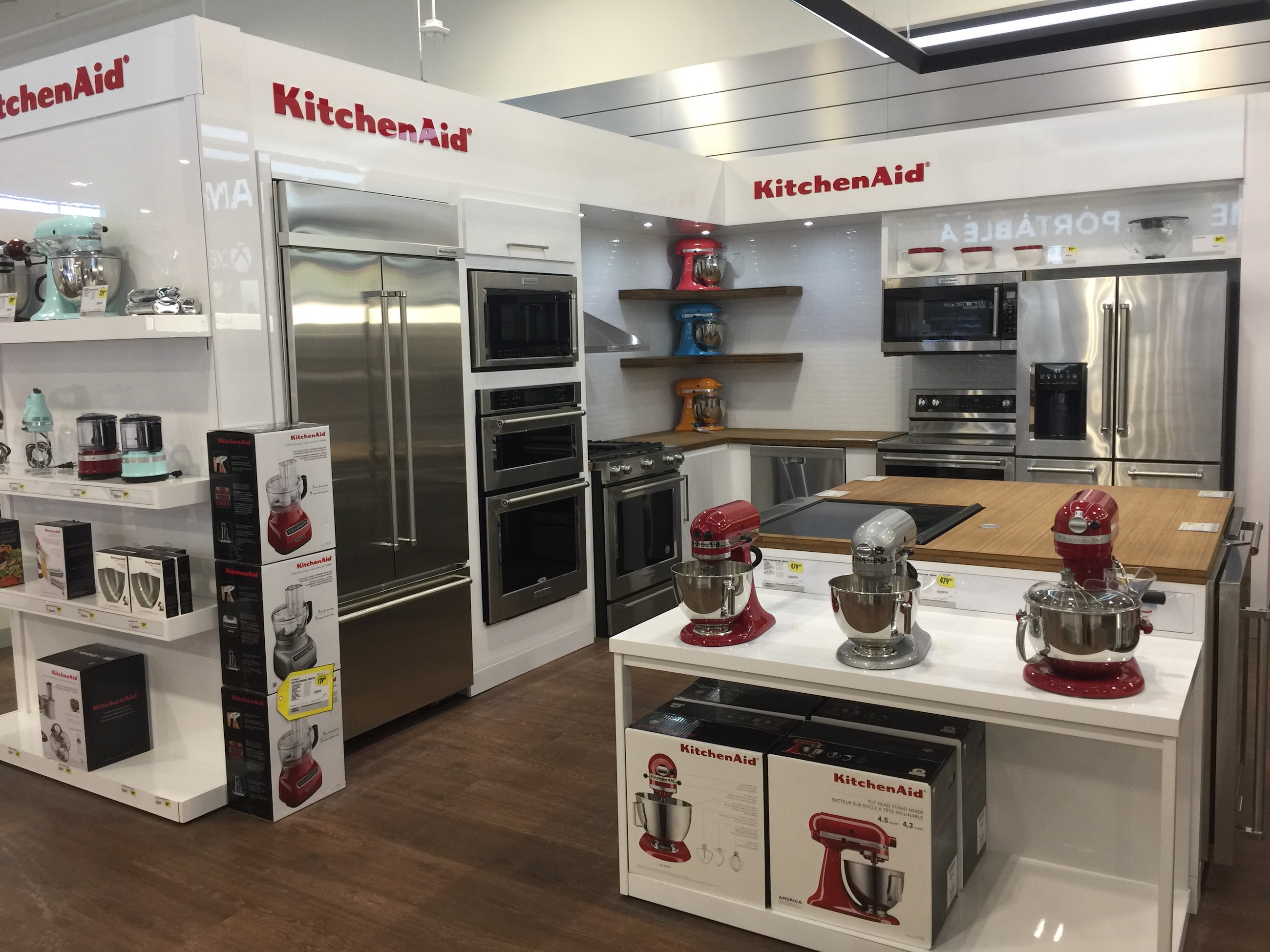 Experience The Appliance Section At The Newly Designed