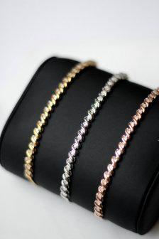 Diamond Bolo Bracelet Gift For Her Valentines Day Amour Modern