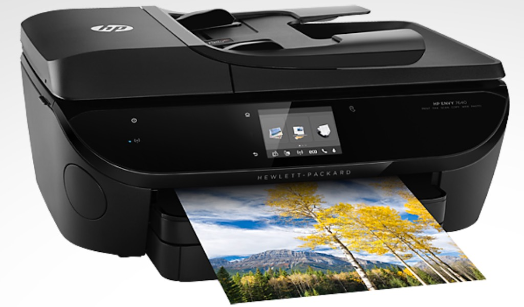review of the hp envy 7640 wireless inkjet printer best buy blog. Black Bedroom Furniture Sets. Home Design Ideas