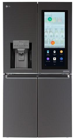 lg smart refrigerator