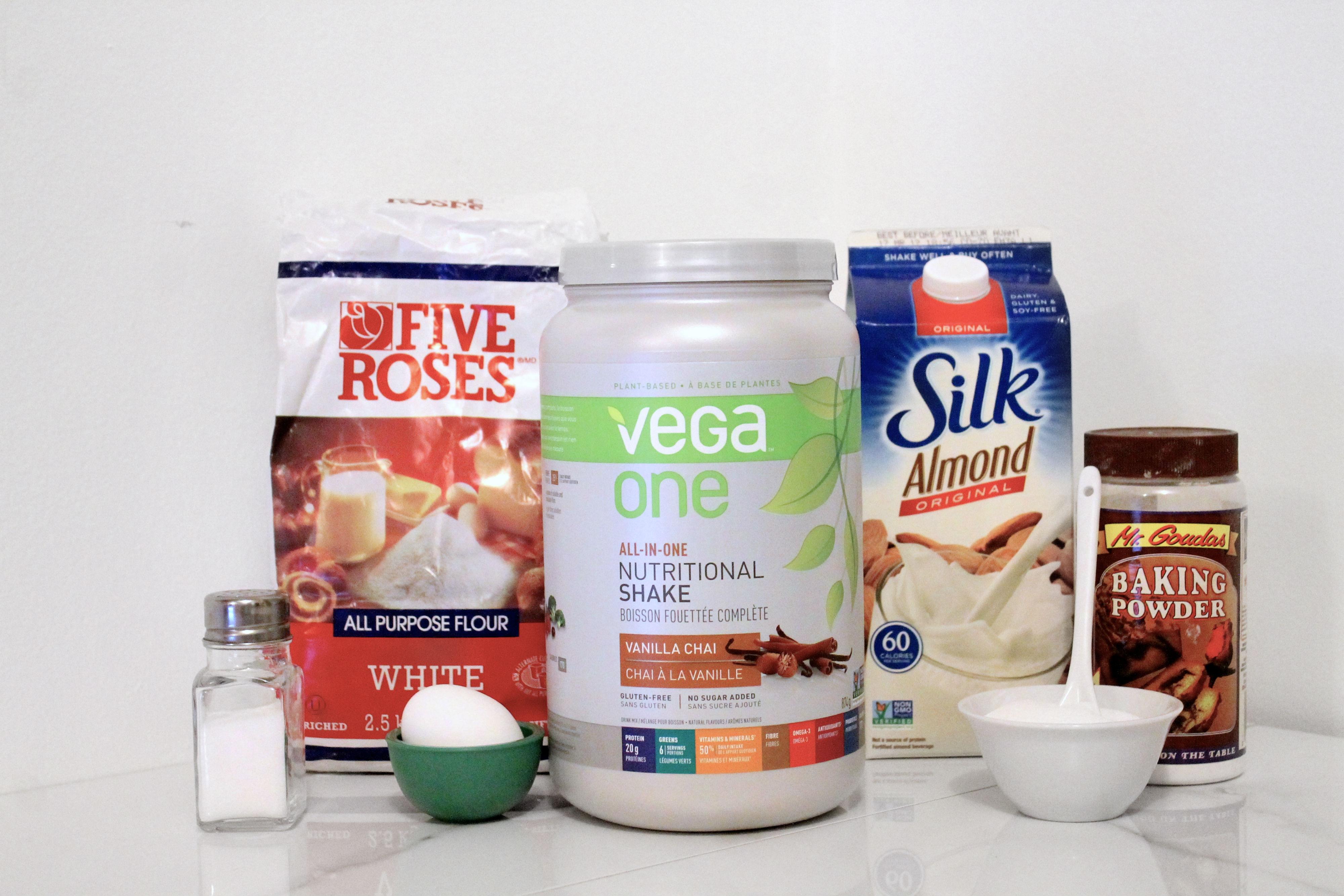 vega one vanilla chai protein pancake ingredients
