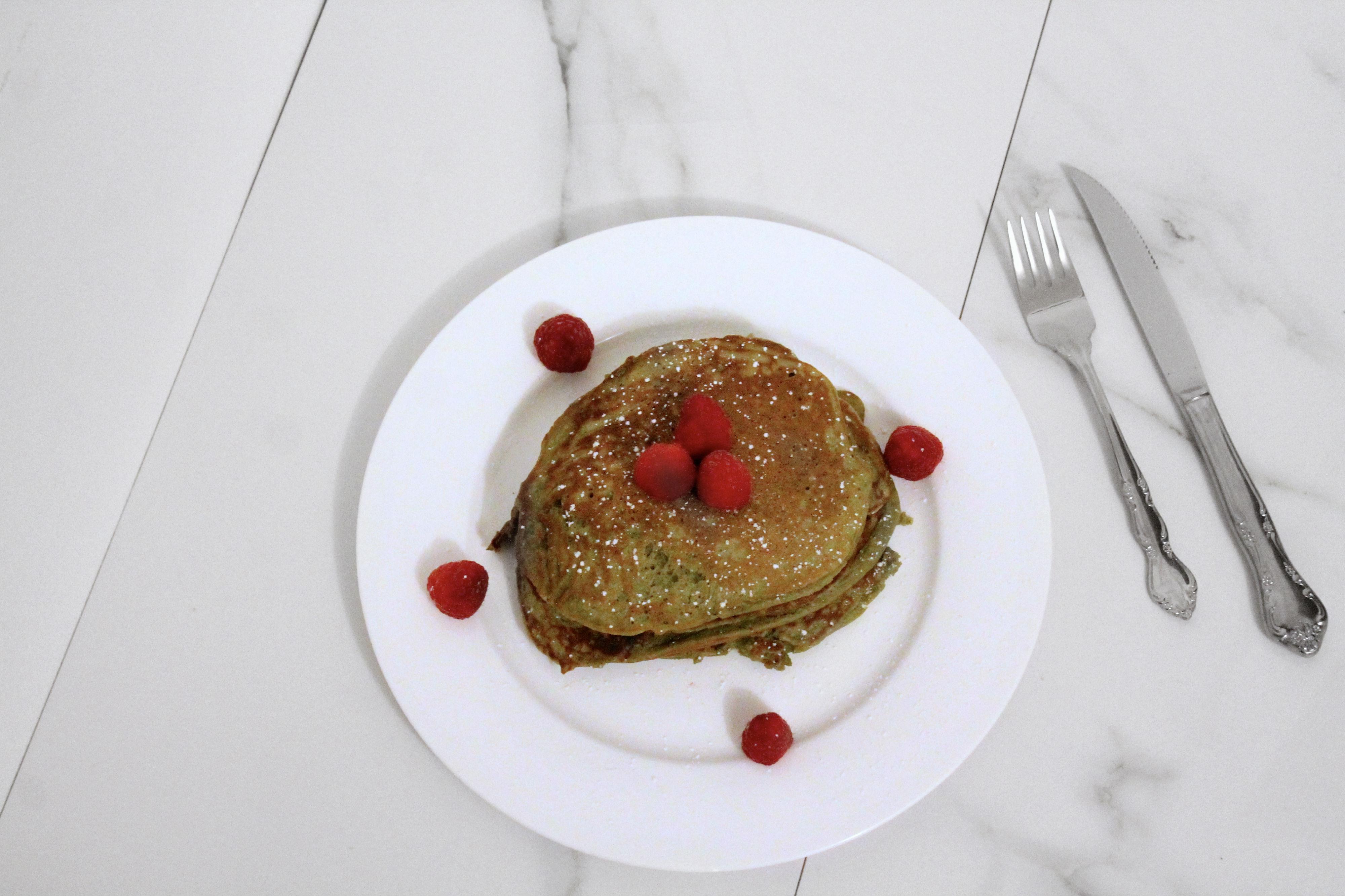 vega one-vanilla-chaie-protein-pancakes