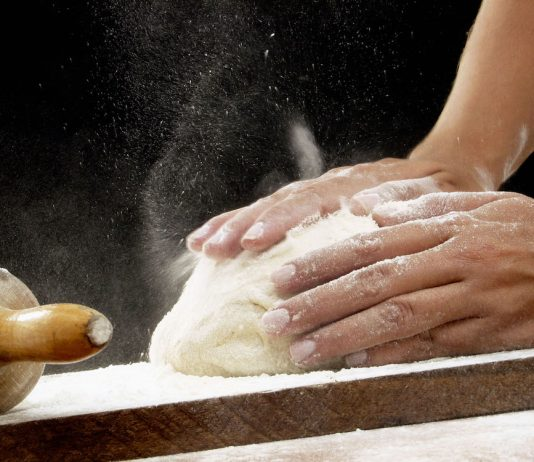 baking bread winter