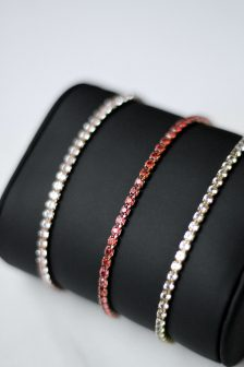 diamond bracelet gift for her- alentines day amour love bolo