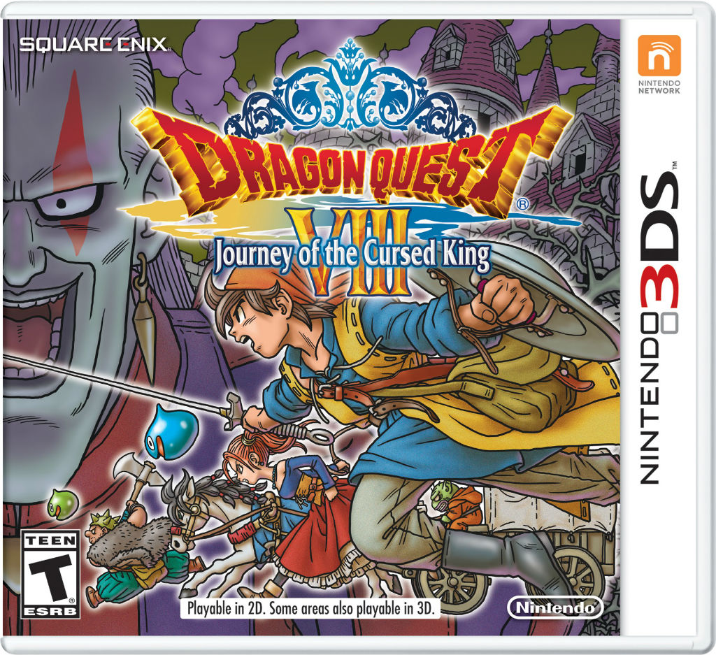 Dragon quest viii journey of the cursed king for nintendo 3ds 3dsdragonquestviiicasepkg01pngjpgcopy gumiabroncs Gallery