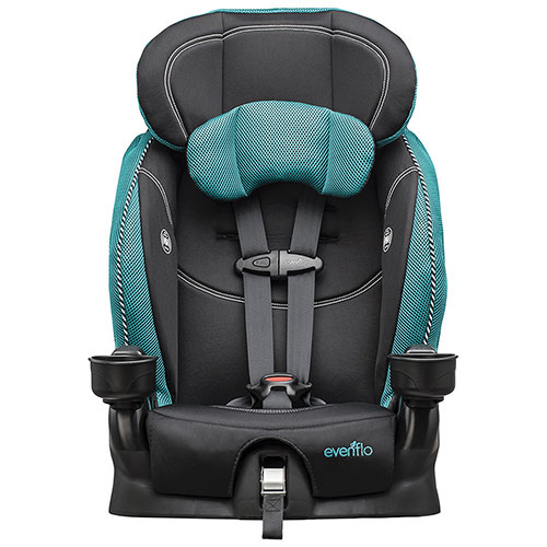 The Evenflo Chase Is Final Step In Series Of Car Seats Youll Need To Purchase For Your Child A Booster Seat That Sees Through