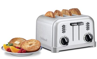 Toasters are perfect for toasting bread and bagels