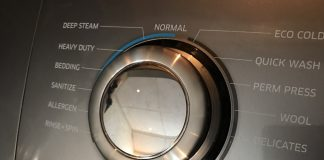 steam washing machine function