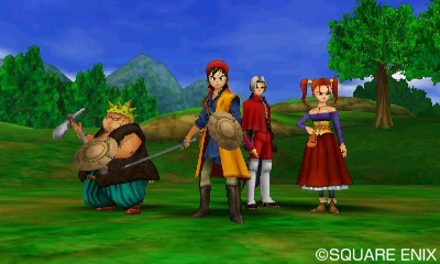 Dragon quest viii journey of the cursed king for nintendo 3ds delightful cast of characters in dragon quest viii gumiabroncs Gallery