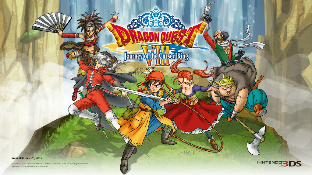 Dragon Quest Xi Wallpaper: Dragon Quest VIII: Journey Of The Cursed King For Nintendo