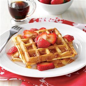 true belgian waffle recipe