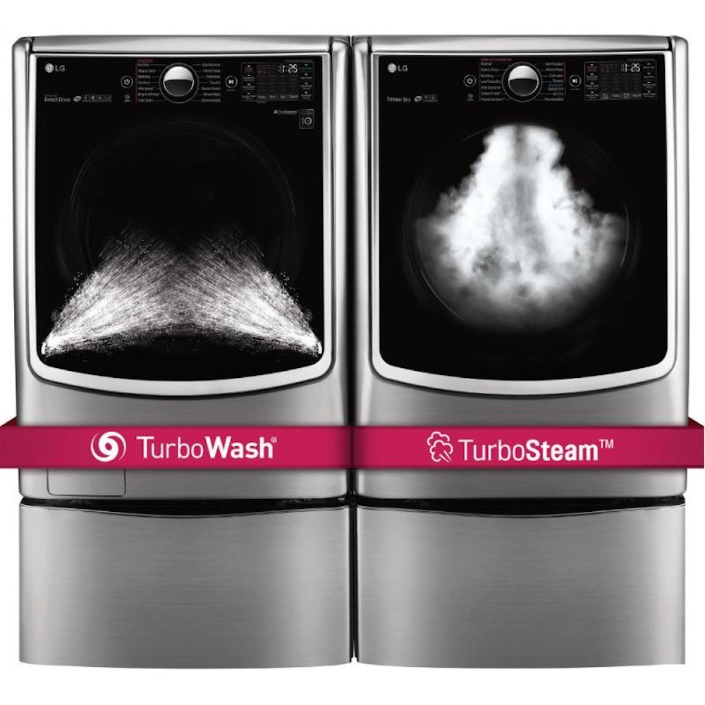 washing machine with steam function