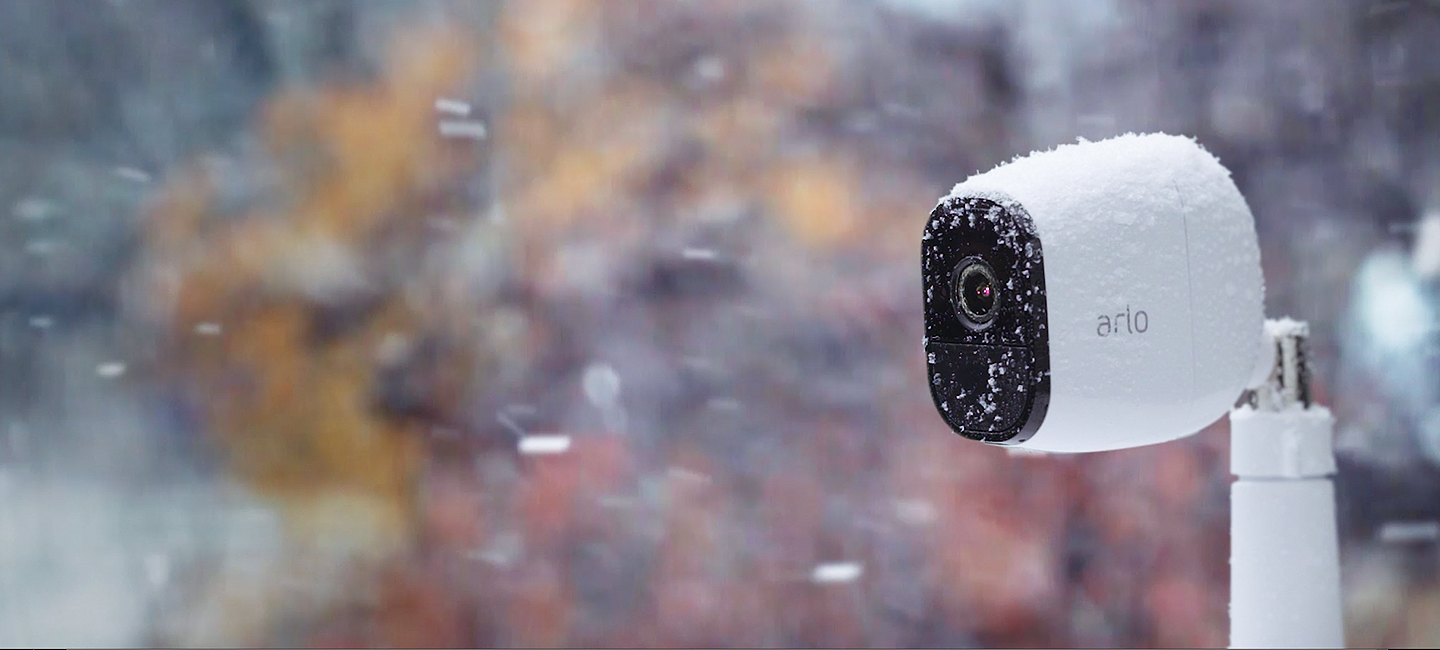 Arlo Pro in the Snow