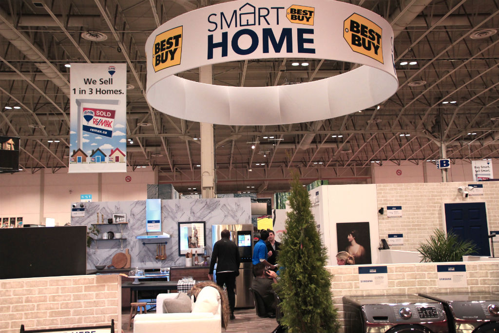 experiencing best buy 39 s smart home at the national home show best buy blog. Black Bedroom Furniture Sets. Home Design Ideas
