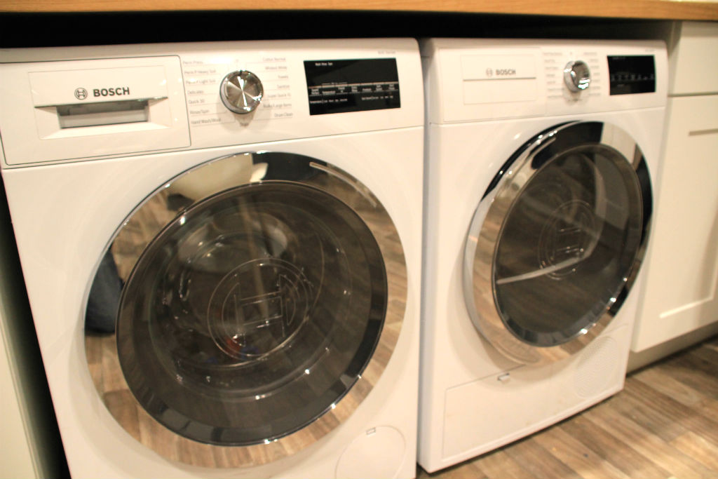 Bosch Home Connect Washer Dryer