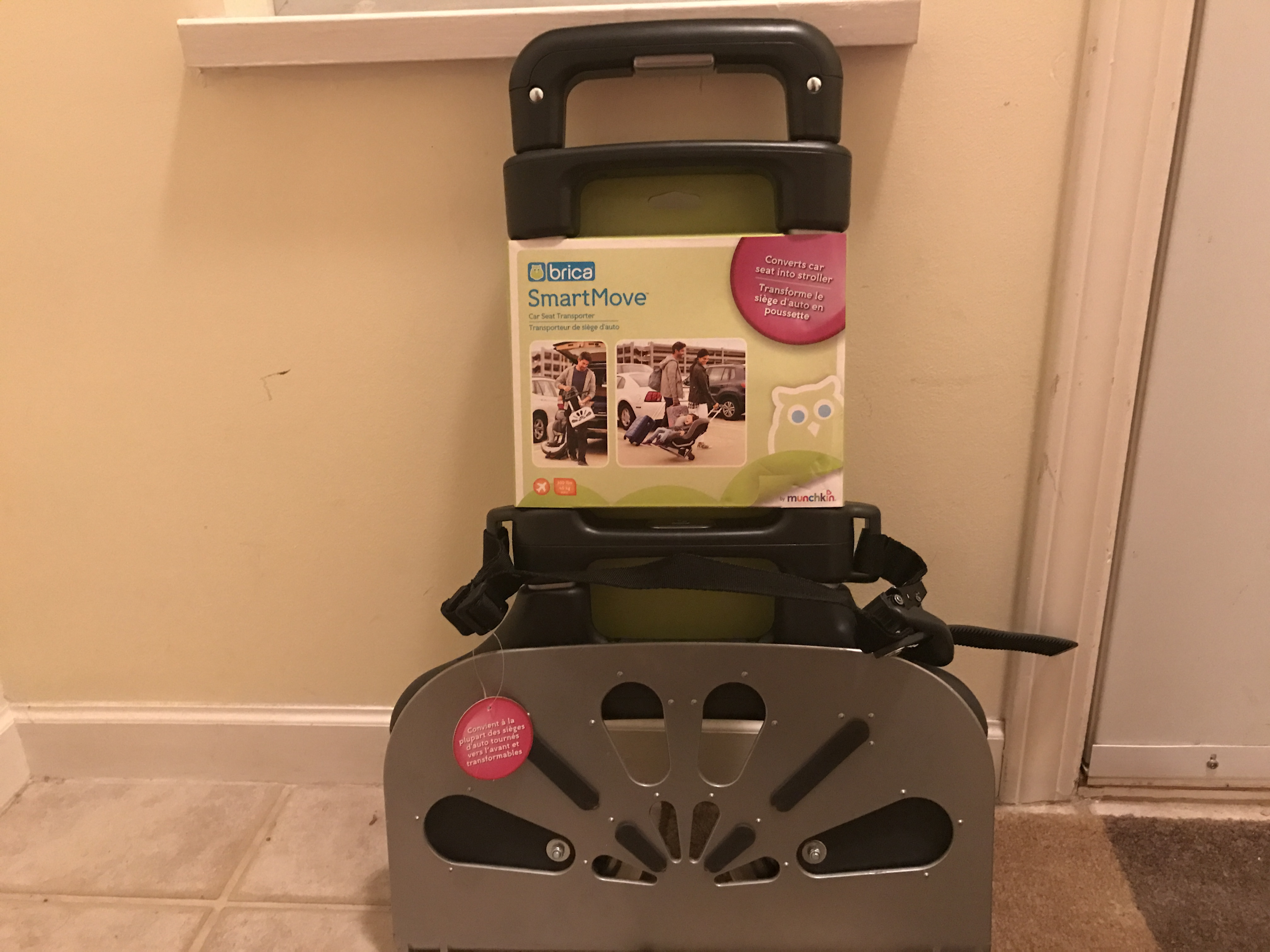 Brica Smartmove Boxed Is A Car Seat Transporter