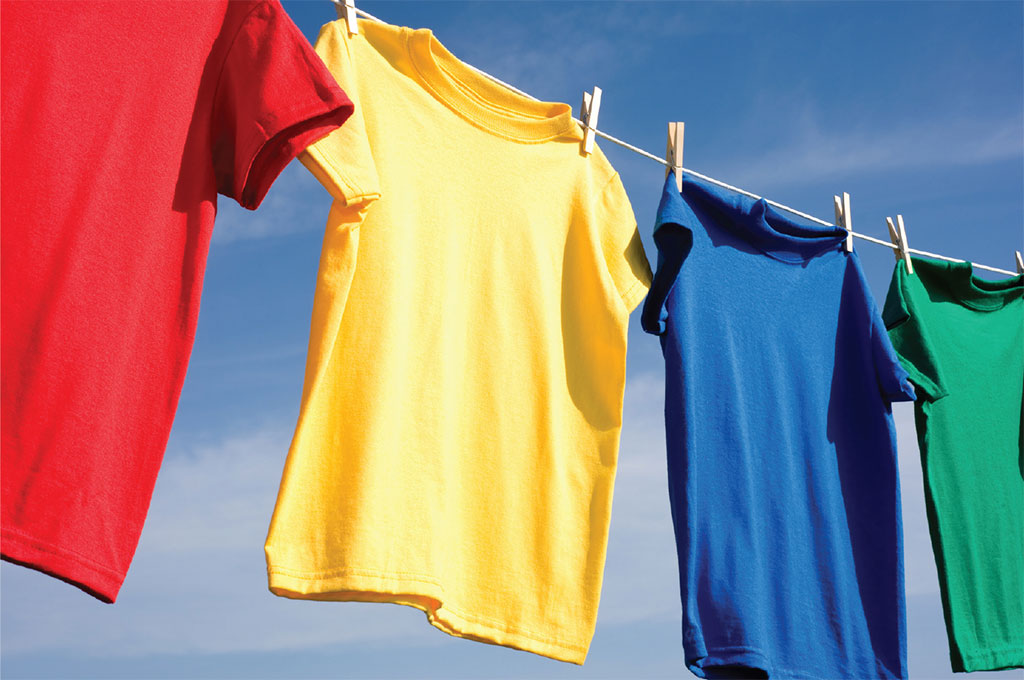 wash clothes to keep looking new