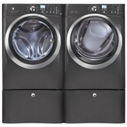 reduce laundry time with high capacity laundry pair