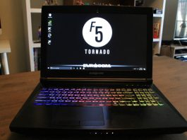 Eurocom Tornado F5 gaming laptop