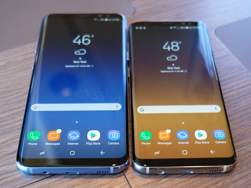 Hands On With The Galaxy S8 And S8 Smartphones Best Buy