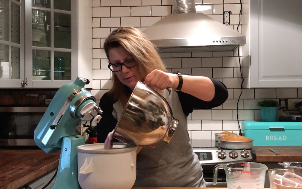 Kitchenaid ice cream maker attachment recipe