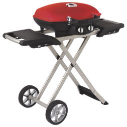 Napoleon travel BBQ with scissor cart