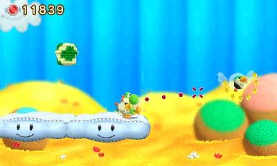 Poochy Yoshi gameplay