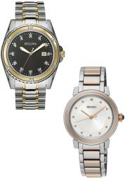 Sublte Two Tone Watch Styles for Men and Women