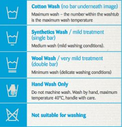 wash clothes options