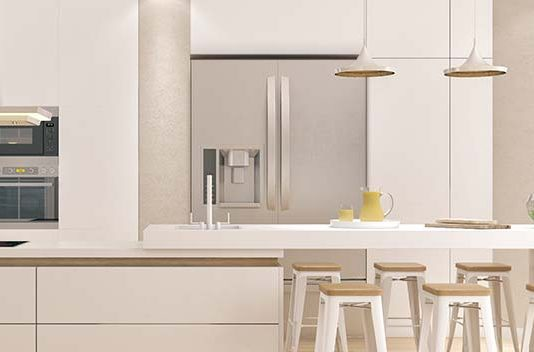 Refrigerator fitting guide