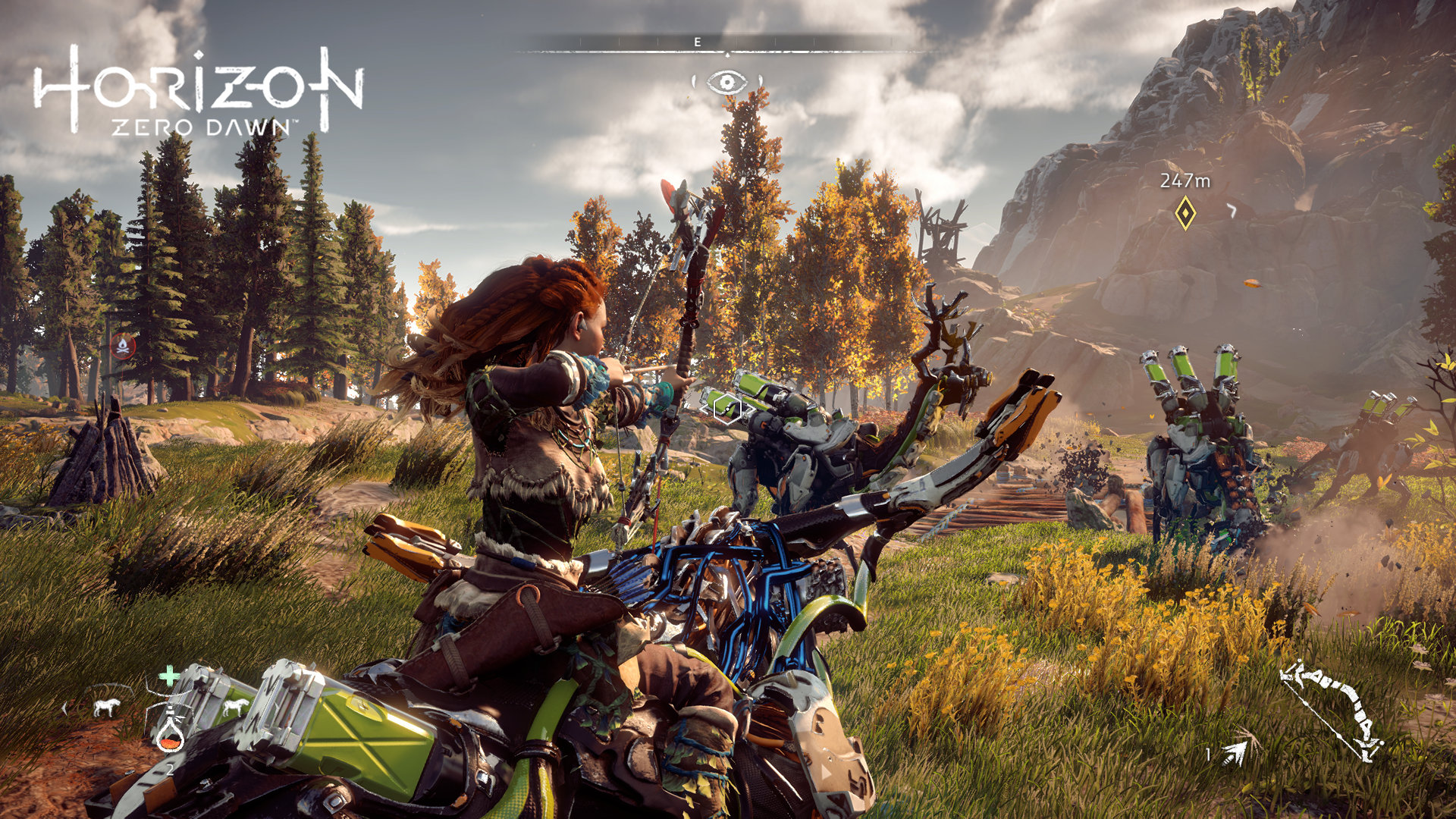 Horizon Zero Dawn riding