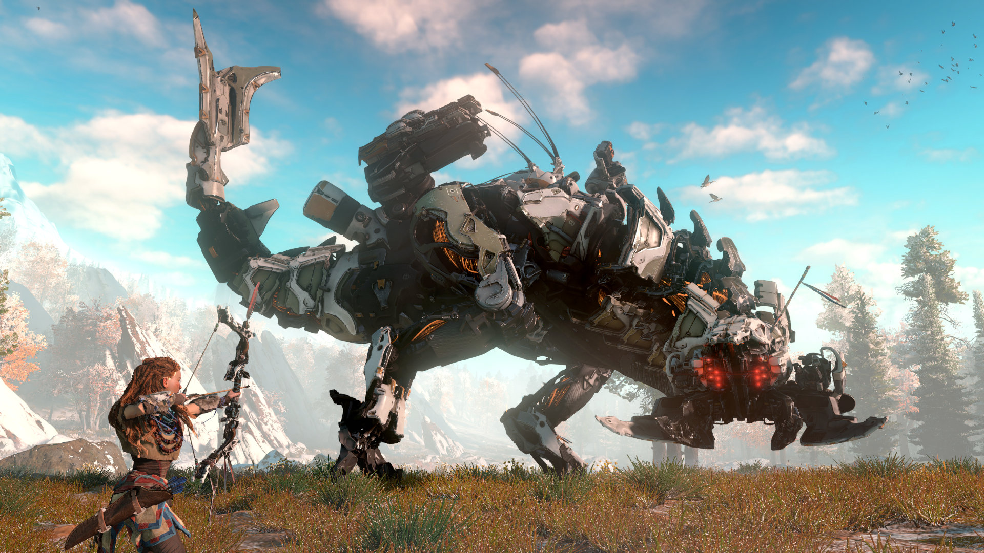 Horizon Zero Dawn Machines