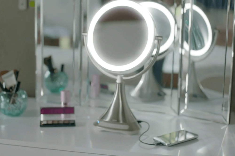 iHome vanity mirror speakers lights review