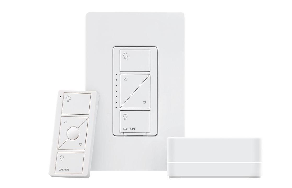 Lutron Caseta smart home lighting switches