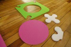 assembling munchkin playmat