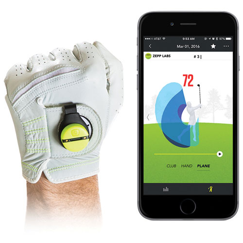 zepp golf swing analyser gps
