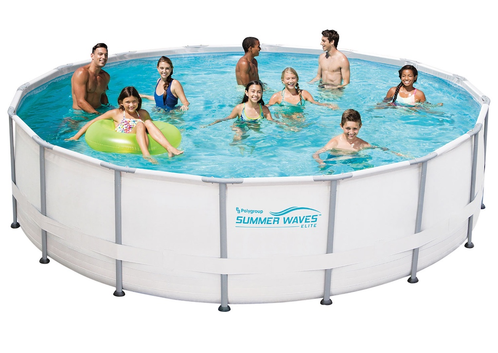 Best buy has above ground pools for summer fun best buy for Best in ground pool