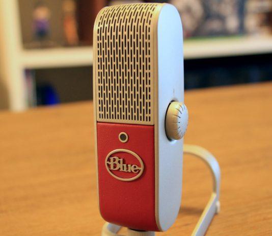 Blue Raspberry Micophone
