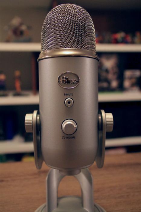Blue Yeti Microphone USB