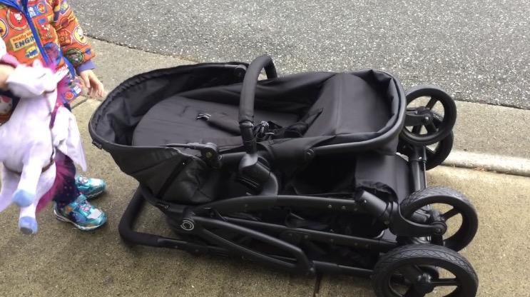 Contours Options Elite Stroller Folded