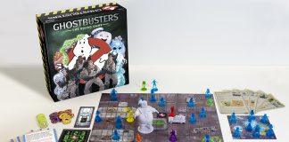 Shot of the Ghostbusters Board Game by Cryptozoic